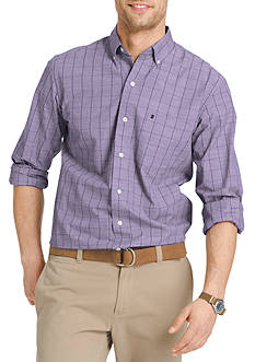 IZOD Long Sleeve Essential Button Down Shirt