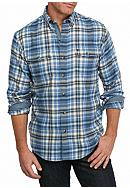 IZOD Hyannis Flannel Long Sleeve Shirt
