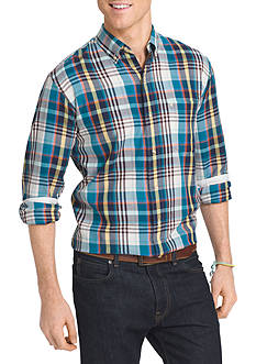 IZOD Long Sleeve Woven Button Down Shirt
