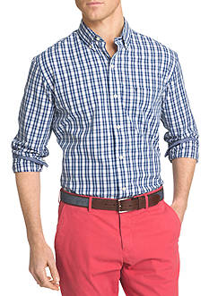 IZOD Advantage Stretch Tattersall Shirt