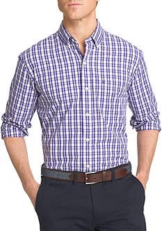 IZOD Advantage Stretch Tattersall Shirt
