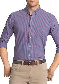 IZOD Advantage Stretch Striped Shirt
