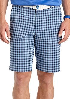 IZOD Golf Gingham Golf Shorts