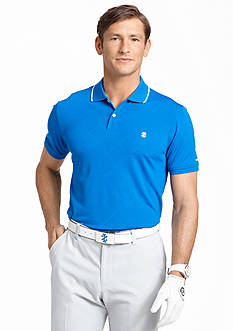 IZOD Golf Solid Argyle Polo