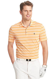 IZOD Golf Short Sleeve Waves Heather Polo