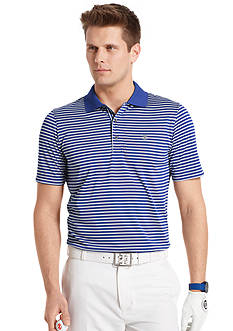 IZOD Short Sleeve Clubhouse Stripe Jersey Polo Shirt