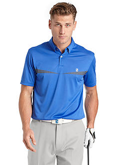 IZOD Golf Men's Golf Printed Polo Shirt