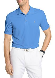 IZOD Short Sleeve Champion Grid Polo Shirt
