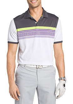 IZOD Short Sleeve Gentlemen Stripe Polo Shirt