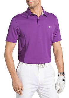 IZOD Short Sleeve Captains Pieced Polo Shirt