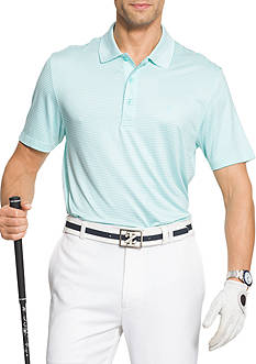 IZOD Short Sleeve Stretch Stripe Polo Shirt