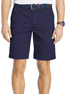 IZOD Stretch Saltwater Flat Front Shorts