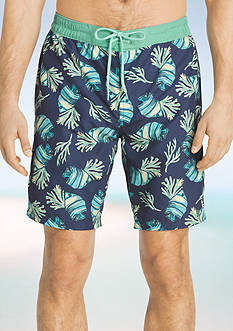 IZOD Seashell Boardshorts