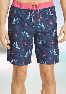 IZOD Sailboat Boardshorts
