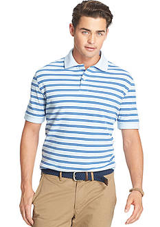 IZOD Short Sleeve Oxford Feeder Polo