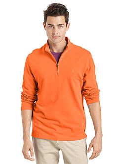 IZOD Long Sleeve Solid Pullover