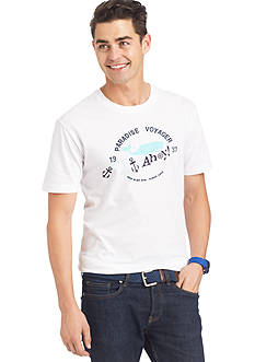 IZOD Whale Printed Graphic Tee