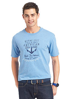 IZOD Anchor Printed Graphic Tee