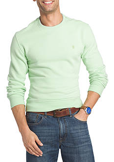 IZOD Saltwater Fleece Crew Neck Sweater