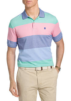 IZOD Striped Advantage Polo Shirt