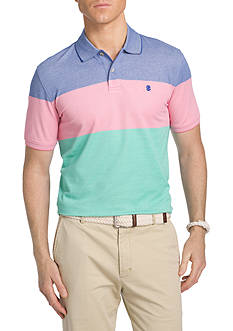 IZOD Colorblock Oxford Short Sleeve Shirt