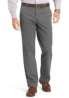 IZOD Straight-Fit Flat-Front Chino Pants
