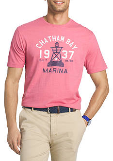 IZOD Marina Short Sleeve Graphic Tee