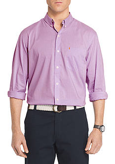 IZOD Advantage Stretch Non-Iron Gingham Shirt