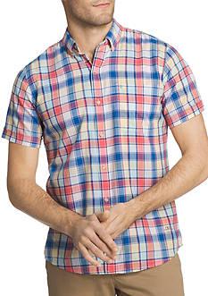 IZOD Chambray Button Down Shirt
