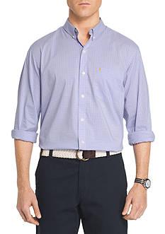 IZOD Long Sleeve Gingham Shirt