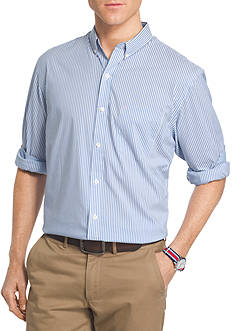 IZOD Long Sleeve Stripe Dress Shirt