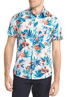 IZOD Short Sleeve Flora Shirt