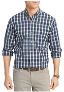 IZOD Big & Tall Tartan Plaid Non-Iron Shirt