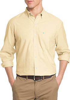 IZOD Big & Tall Long Sleeve Oxford Shirt