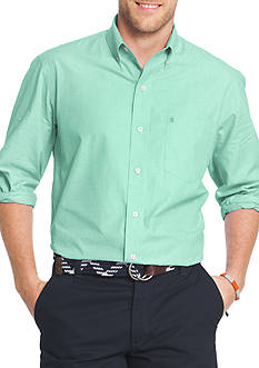 IZOD Big & Tall Essential Poplin End On End Shirt