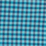 Mens Big and Tall Casual Shirts: Check & Plaid: Scuba Blue IZOD Big & Tall Long Sleeve Performance Advantage Non Iron Stretch Shirt