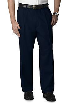 IZOD Big & Tall Ultimate Travel Pleated Wrinkle Resistant Pants