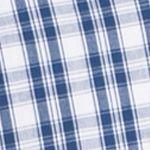 Mens Big and Tall Casual Shirts: Check & Plaid: Blue IZOD Big & Tall Advantage Stretch Plaid Shirt