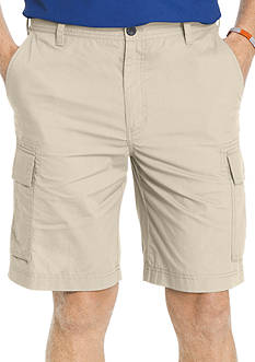 IZOD Big & Tall Poplin Cargo Shorts