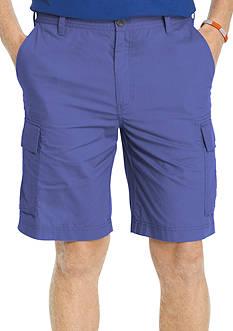 IZOD Big & Tall Poplin Cargo Shorts