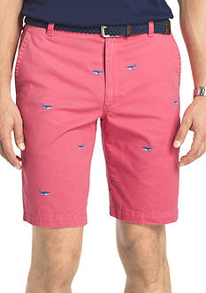 IZOD Big & Tall Schliffli Printed Shorts