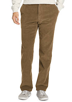 IZOD Big & Tall Corduroy Straight Fit Pants