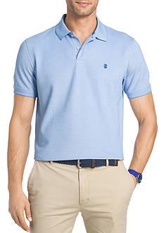 IZOD Big & Tall Short Sleeve Oxford Advantage Polo