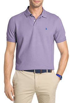 IZOD Big & Tall Short Sleeve Oxford Advantage Polo