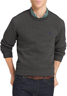 IZOD Big & Tall Advantage Fleece Crew Neck Sweatshirt