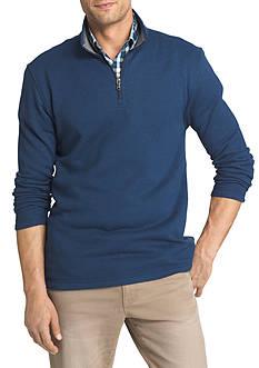 IZOD Big & Tall Spectator Fleece 1/4 Zip Pullover