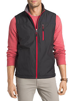 IZOD Big & Tall Performance Reversible Fleece Vest