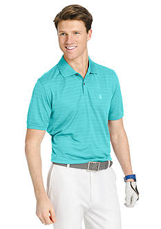 IZOD Big & Tall Short Sleeve Stripe Golf Polo Shirt