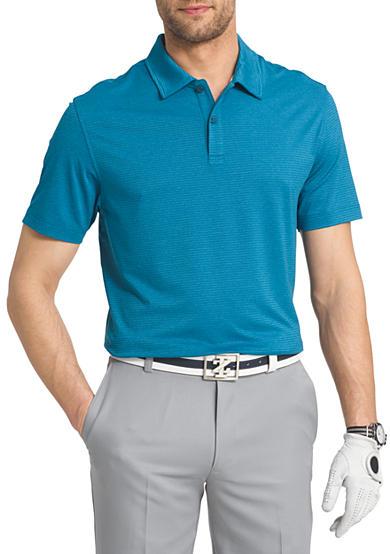 Izod big tall performance golf cut line stretch polo for Izod big and tall shirts
