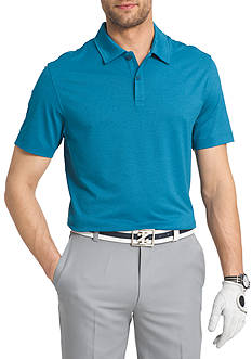 IZOD Big & Tall Performance Golf Cut Line Stretch Polo Shirt